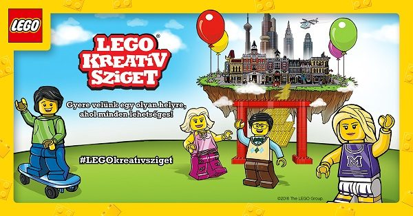 Az első LEGO Kreatív Sziget Magyarországon!