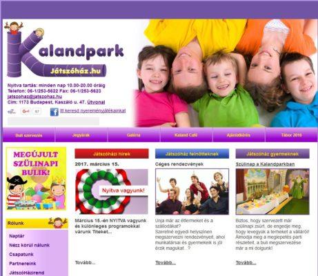 Kalandpark Játszóház március 15-ei programja