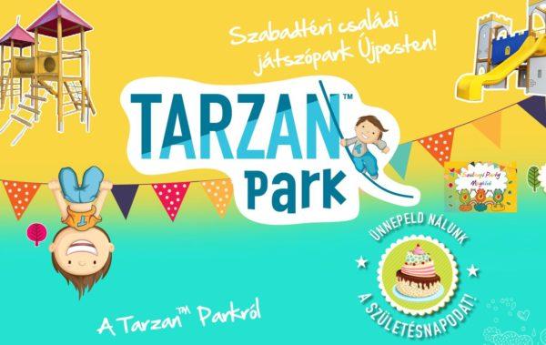 Tarzan Park: szabadtéri családi játszópark Újpesten