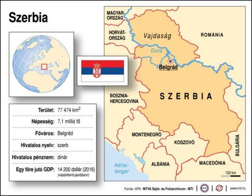 Földrajzóra: Szerbia