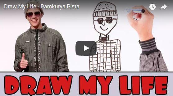 Pamkutya Pista lerajzolja és elmeséli életét