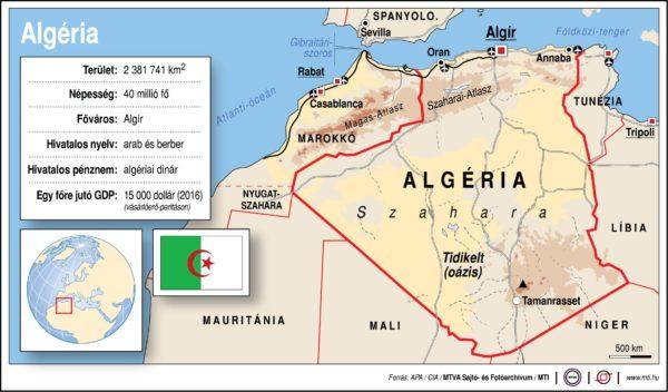 Földrajzóra: Algéria