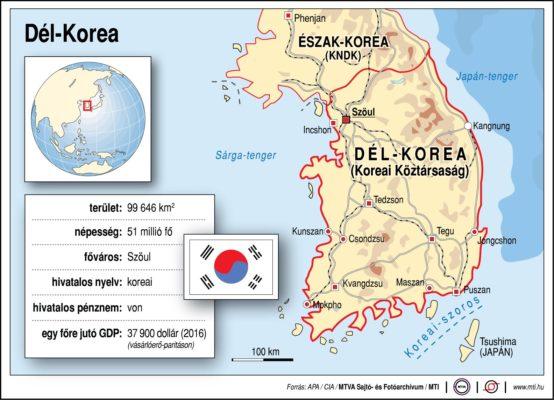 Földrajzóra: Dél-Korea