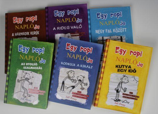 Ismeritek az Egy ropi naplója könyveket?