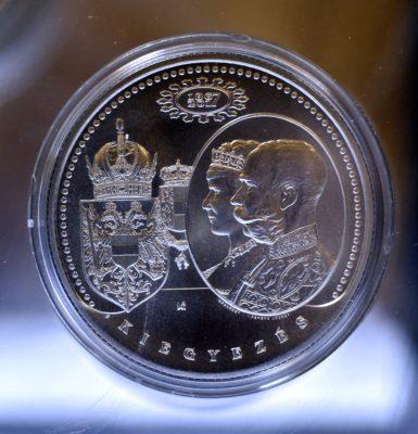 Az 1867-es kiegyezésre emlékező ezüstérmét bocsátott ki az MNB