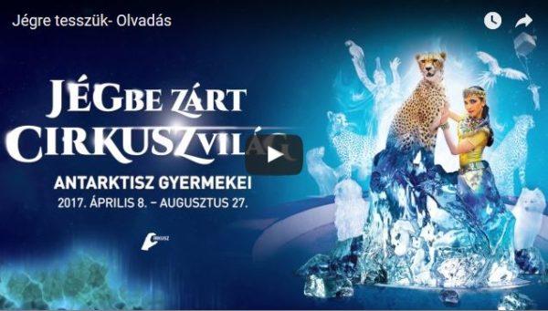 Fővárosi Nagycirkusz új műsora: Jégbe zárt cirkuszvilág