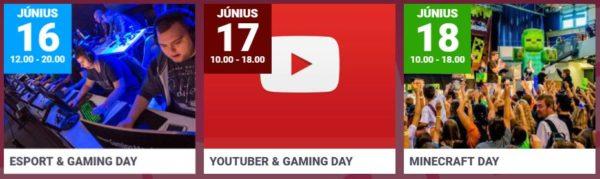 Gamer Expo, 2017. június 16-18., Zalaegerszeg