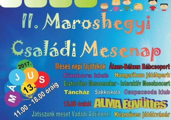 Programajánló: II. Maroshegyi Családi Mesenap, 2017. május 13-án