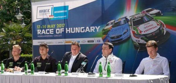 WTCC a Hungaroringen, 2017. 05. 13-14.
