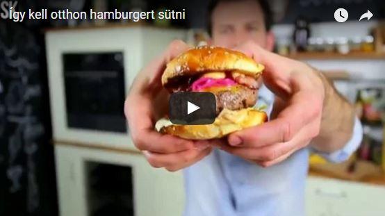 Fördős Zé hamburgere