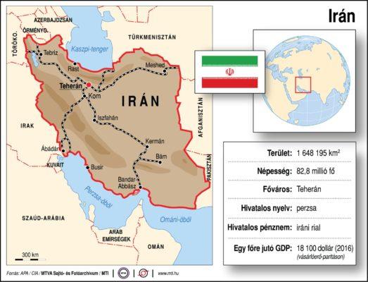 Földrajzóra: Irán