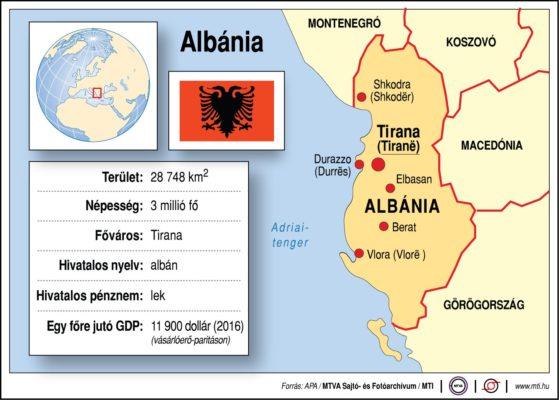 Földrajzóra: Albánia