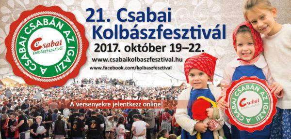 Programajánló: Csabai Kolbászfesztivál, 2017. október 19-22.