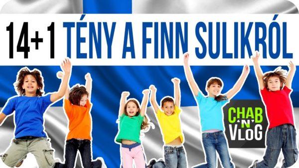A finn suli kis túlzással…