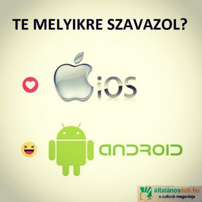 Android vagy iOS?