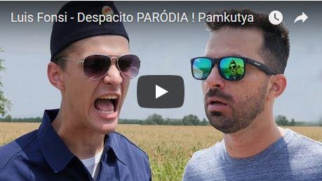 Óriási siker a Pamkutya Despacito paródiája