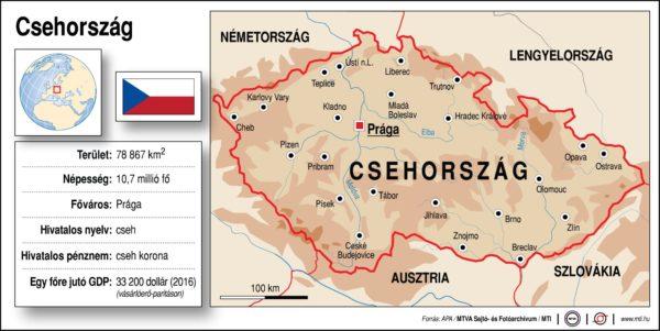 Csehország egy percben