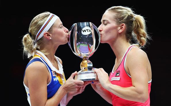 Babos Tímea az első magyar világbajnok teniszezőnő!