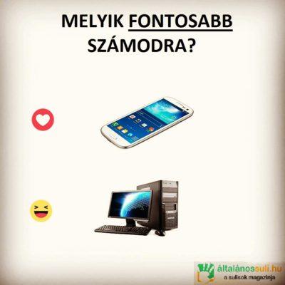 PC vagy mobil? Melyiket választod?