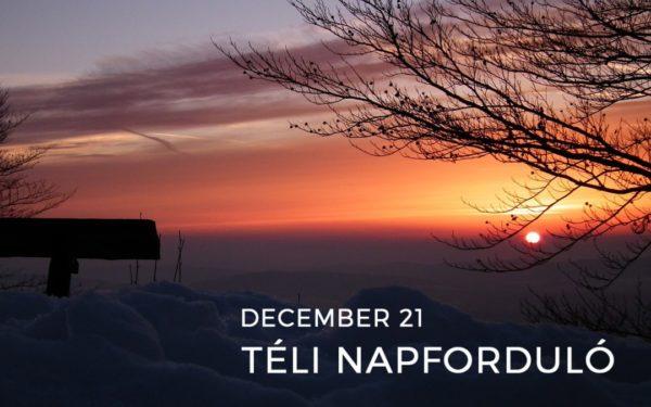 December 21.: az év legrövidebb nappala
