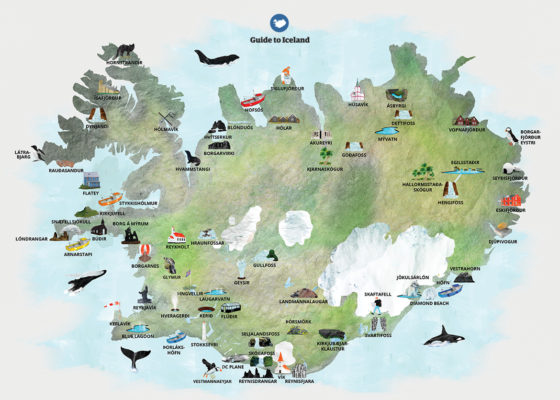 Izland egy percben