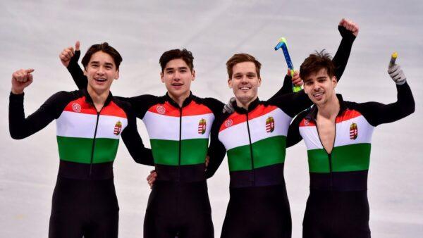 Megvan Magyarország első téli olimpiai aranyérme!!!