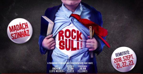 Rocksuli a Madách Színházban – bemutató szeptemberben