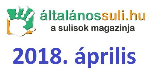 Visszatekintés: 2018. április