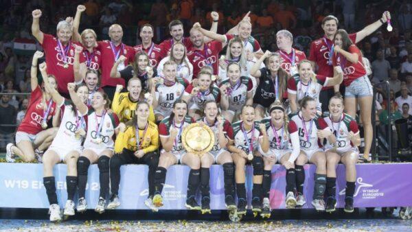 Európa-bajnok a magyar női junior válogatott!