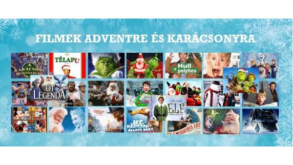 Filmek adventre és karácsonyra