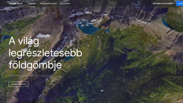 Google Föld, a virtuális földgömb rengeteg extrával
