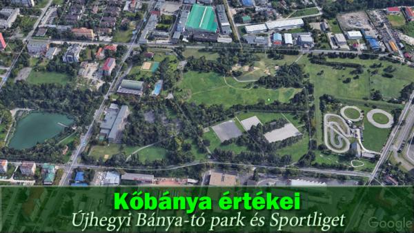 Újhegyi Bánya-tó park és Sportliget